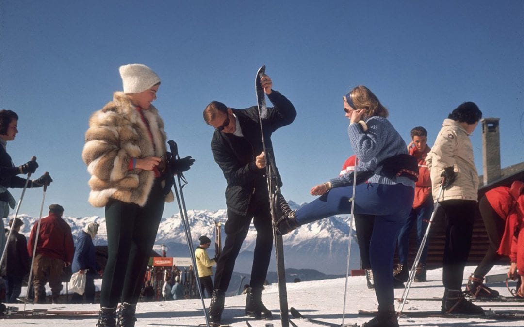 The Trendy and the Quick– Skiing Photos by Slim Aarons