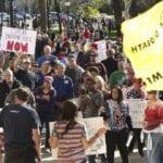 Salt Lake County mayor angered by rally's 'egregious' violations amid coronavirus