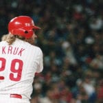 The day John Kruk rolled out of a radiation treatment and electrified a town