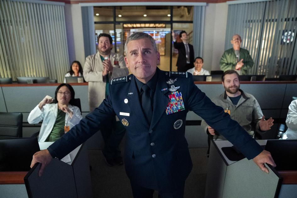 Steve Carell takes command of the Colorado based Space Force in a new Netflix comedy | TV Review