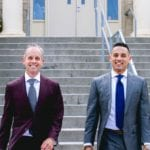 Colorado Springs father and son design suits for pro athletes and others on their biggest days