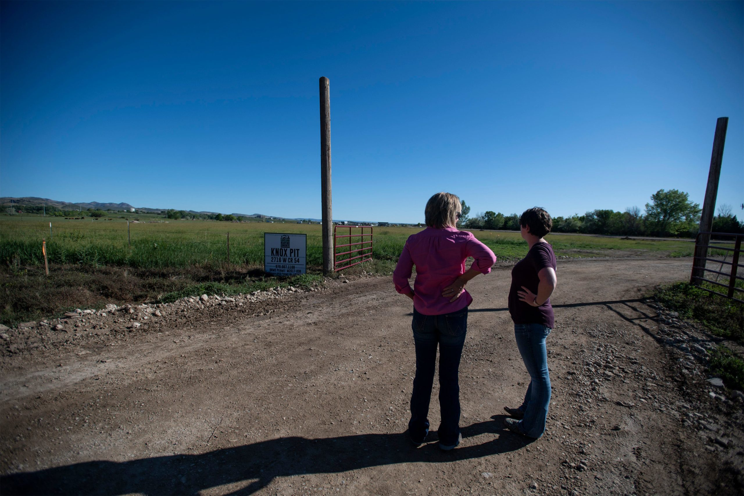 Small Colorado community digging in against proposed gravel pit