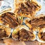 Chile Colorado Burritos - A Family Feast®