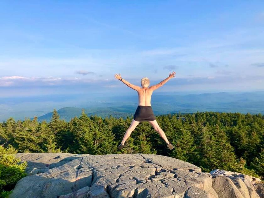 Colorado women are marking their mountaintop moments with 'empowering' topless photos