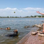Toxic algae are filling Colorado lakes with slimy pea-green soup. Are hotter summers making it worse?