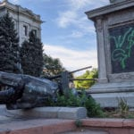 When the Union soldier fell at the Colorado Capitol, it may have started a chain reaction
