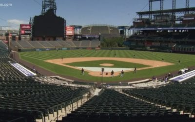 The Colorado Rockies And DHS Conducted A Safety Exercise To Keep Non-Existent Fans Safe