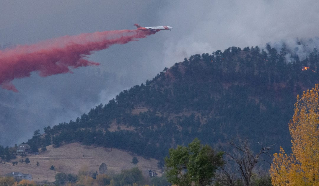 Fire charts that show where 2020 ranks in Colorado wildfire history