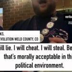 Colorado Dem Official Threatens Violence, Murder if Trump Wins: 'Guillotines, Mother f**ker' … 'Killing Random Nazis In The Street' (Video) ⋆ Conservative Firing Line