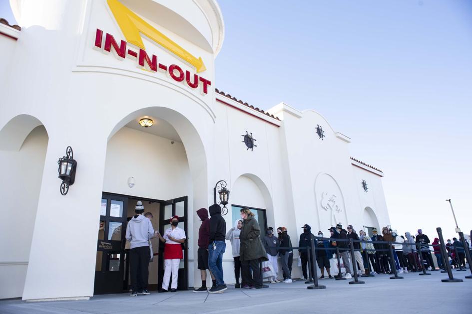 Foodies flock to In-N-Out's grand opening in Colorado Springs