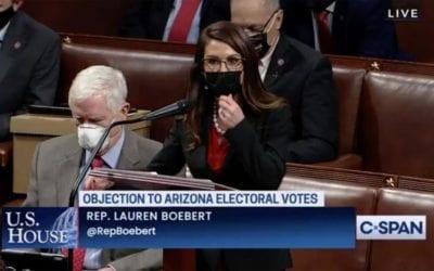 Colorado GOP leader urges Rep. Lauren Boebert, members in Congress to 'tone down the rhetoric'