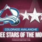 Colorado Avalanche's 3 Stars of the Month - January 2021