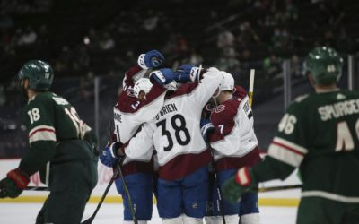 Colorado Avalanche ride four-goal second period to road win over Minnesota Wild