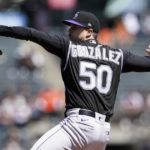 Chi Chi Gonzalez impresses in first start, but bullpen costs Colorado Rockies another game