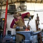 Blacksmith captures attention with feminine, soft sculptures in Colorado