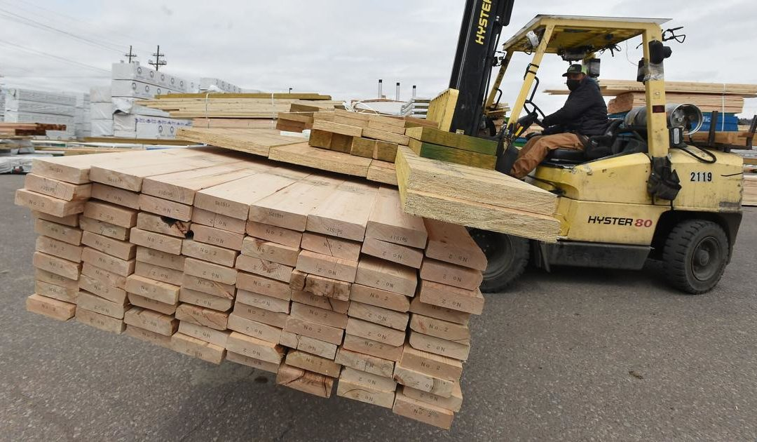 Soaring material costs create sticker shock for Colorado Springs homeowners, builders and contractors
