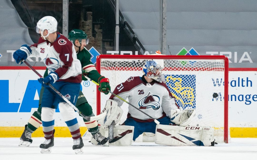 Minnesota routs Avalanche 8-3, snapping Colorado's 15-game point streak
