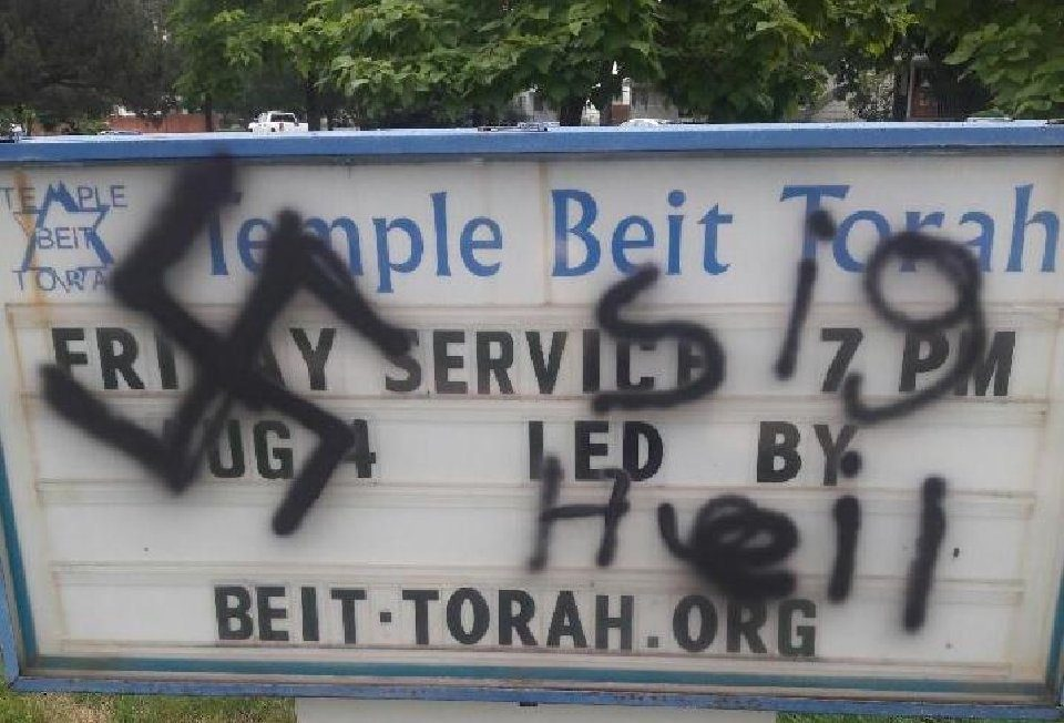 """""""Zoombombing,"""" swastikas, expletives: Antisemitic incidents in Colorado remained historically high in 2020 – The Denver Post"""