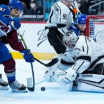 Kings finish with another lopsided loss in Colorado