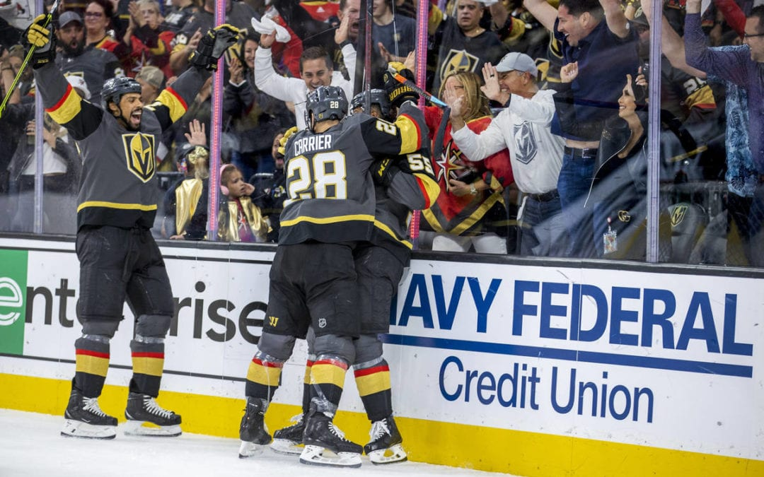 Golden Knights use depth to eliminate Colorado Avalanche | Las Vegas Review-Journal