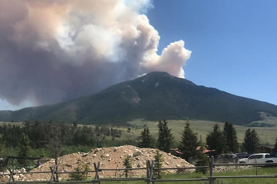 Wind whips up fires as heat grips parts of Montana, Wyoming | OutThere Colorado