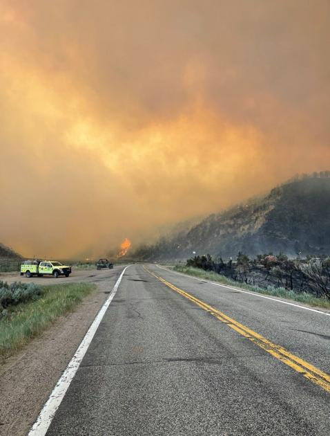 Rain 'a blessing' in slowing wildfire in Colorado, allows state highway to reopen   OutThere Colorado