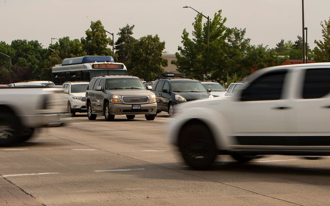 Commutes in Northern Colorado are getting longer. Here's why, and what it means for air quality.