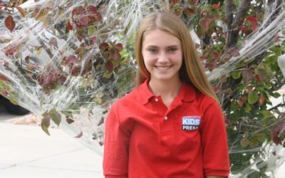 Colorado Springs middle school student selected for international 'Kid Reporter' program